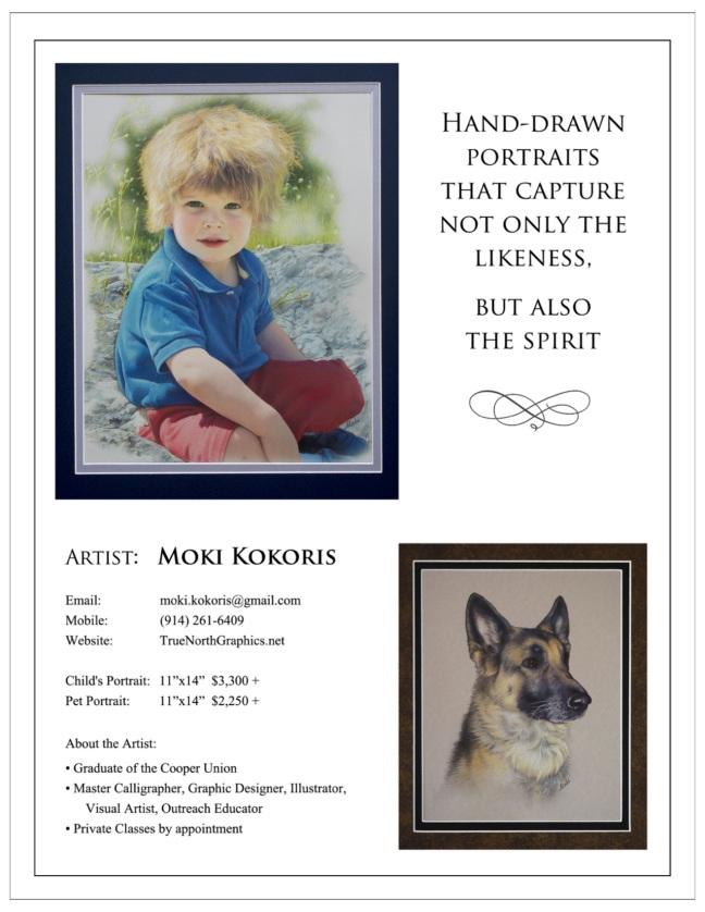 Moki-Kokoris-portraits-flyer